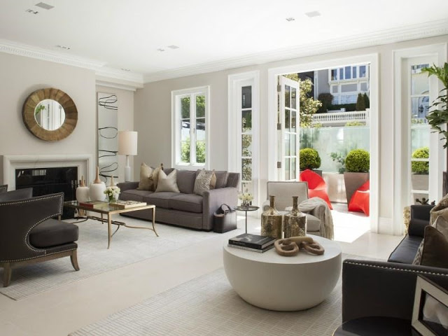 Modern Living Room San Francisco Best Interior Design 12: $23 MILLION DOLLAR SAN FRANCISCO HOME