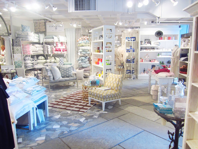 COCOCOZY textiles and pillows in the showroom