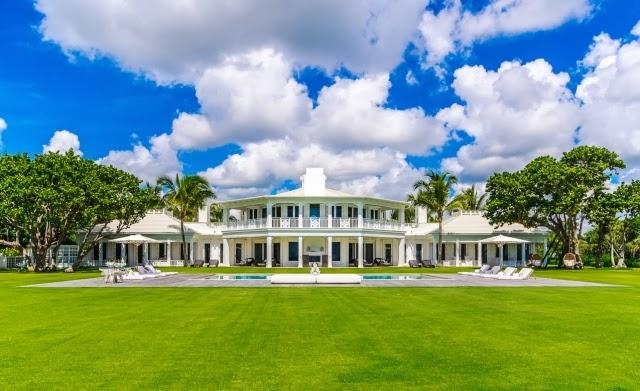 Celine Dion's Jupiter Island home