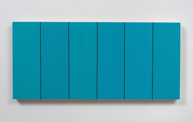 Untitled (Peacock Blue) by Brian Wills, 2013