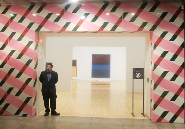 Entrance to MOCA's permanent collection