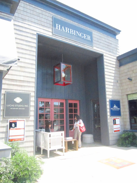 entrance to the Harbinger