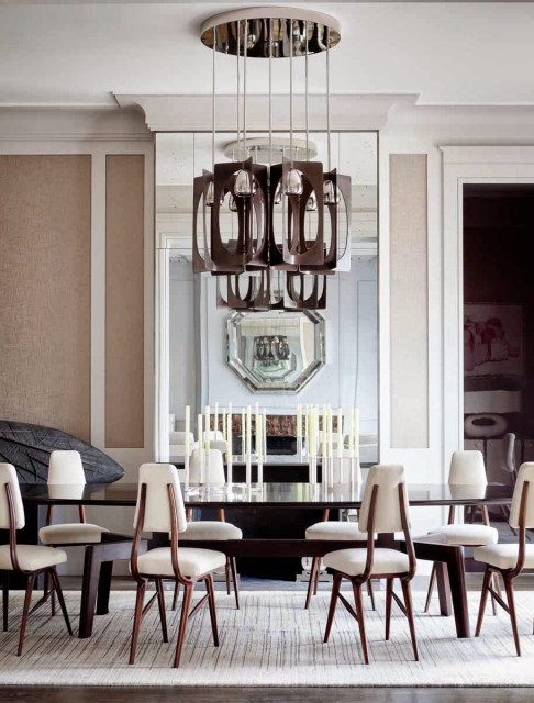 Modern dining room by Jerome Galland