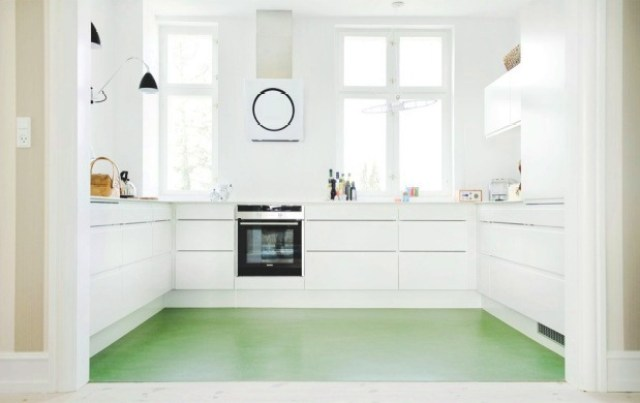 SMART DESIGN: A FRIENDLY COLORFUL KITCHEN FLOOR! | COCOCOZY