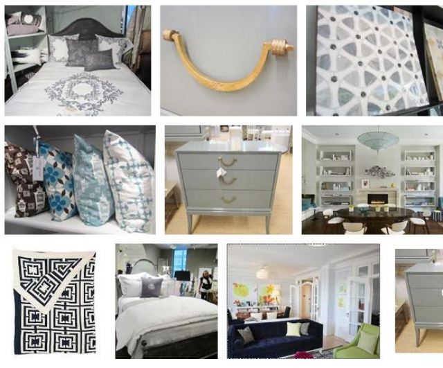 COCOCOZY summer style board with a focus on shades of gray