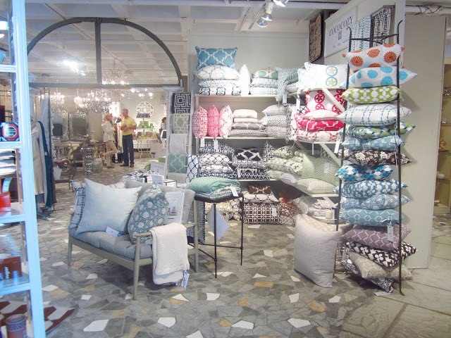 Display of COCOCOZY Natural Linen pillows