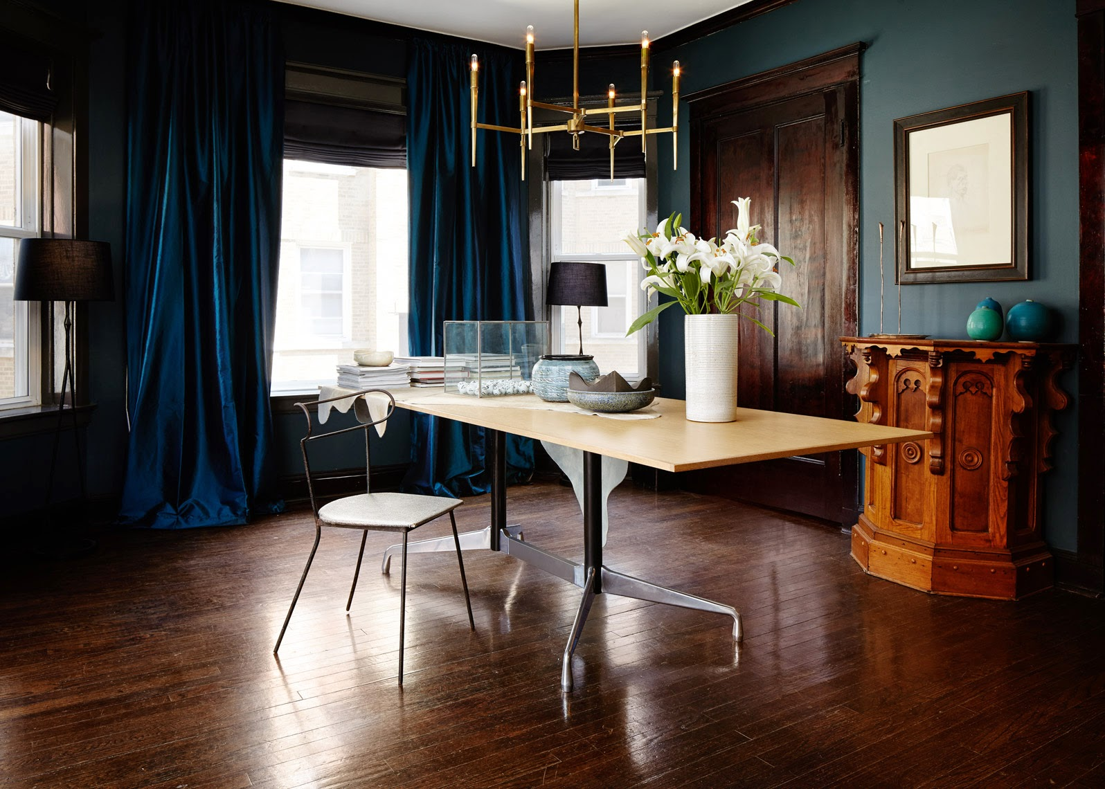 ... Chandeliers Dining Room 7 Cool Modern Brass Chandeliers Cococozy ...