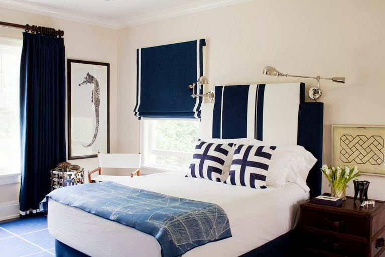 COLOR WATCH: BOLD BEDROOMS IN SHADES OF BLUE! | COCOCOZY