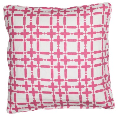 COCOCOZY Plaid Solid Pink