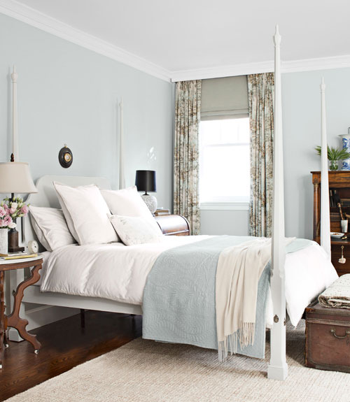 Light Blue Master Bedroom: SEE THIS HOUSE: DARRYL CARTER DESIGNS A DAZZLING D.C