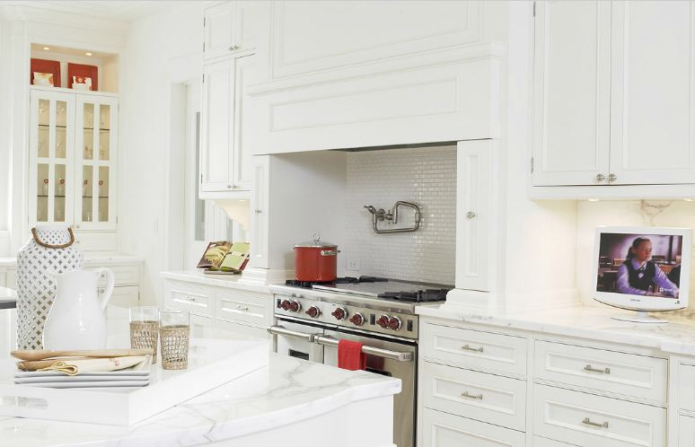 White Kitchen Vs Wood this or that: white vs. wood in two stylish kitchens! | cococozy