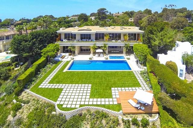 Multi million dollar beach house in Malibu, CA