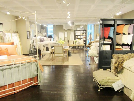 Peacock Alley section at the Christian Mosso Associates Showroom in Atlanta