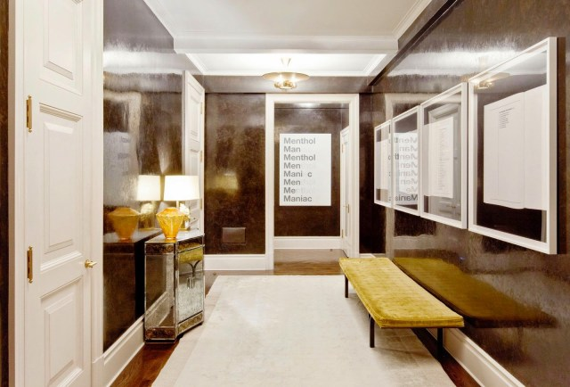 Foyer Plaster Ceiling : Glossy walls shiny ceilings cococozy