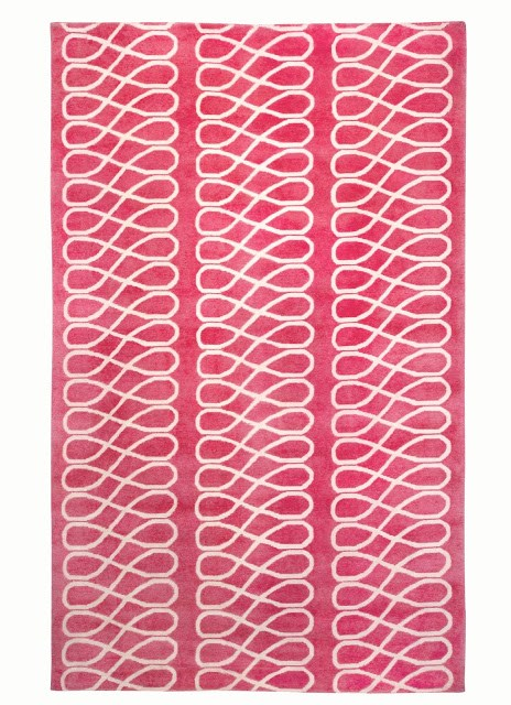 COCOCOZY loop rug pink capel flooring decor decoration home interior design floor covering carpet rugs