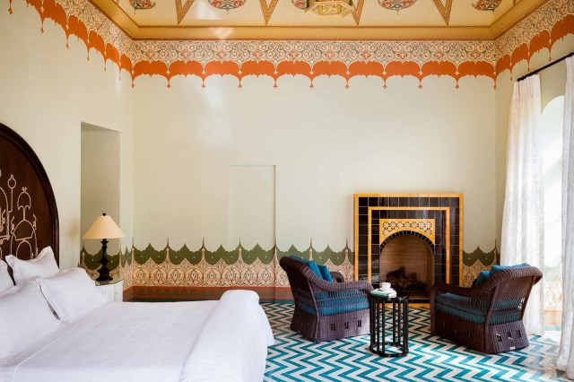 Marrakech inspired bedroom by Jerome Galland