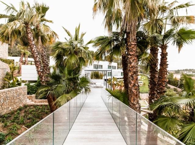Villa Chameleon Mallorca Spain exterior bridge