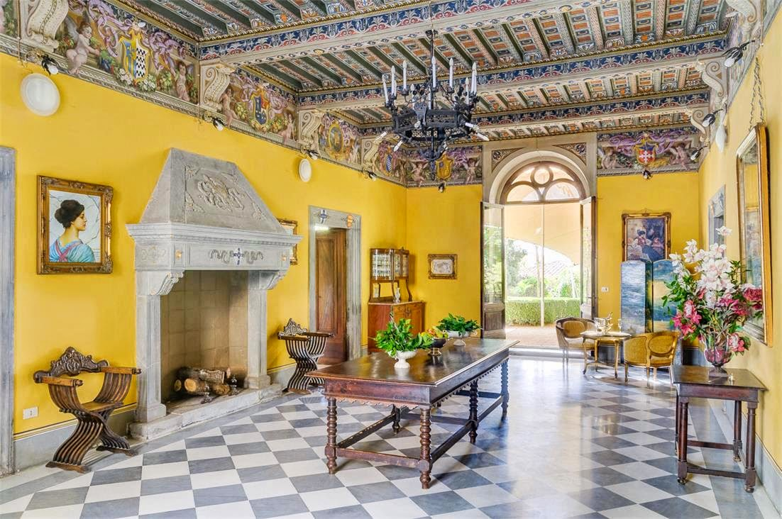 $35 million dollar medieval italian castle | cococozy