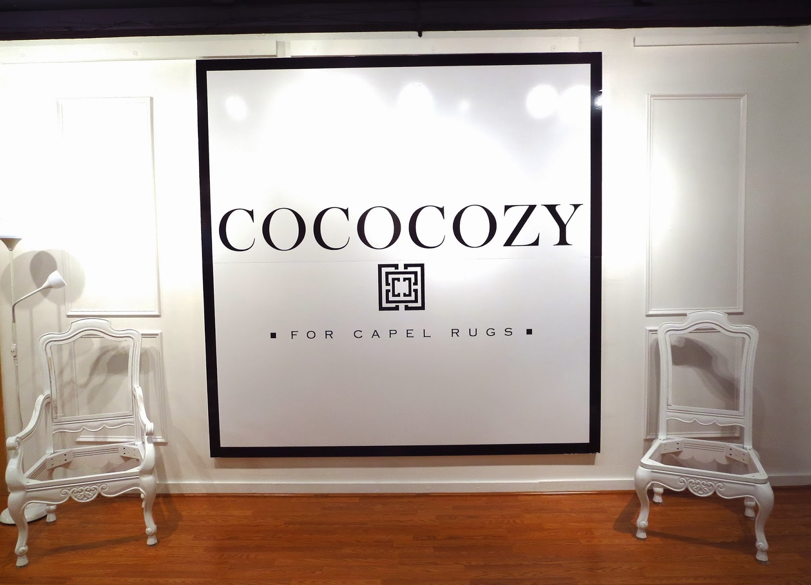 Cococozy Signage In The Capel Rugs Showroom   Capel Rugs