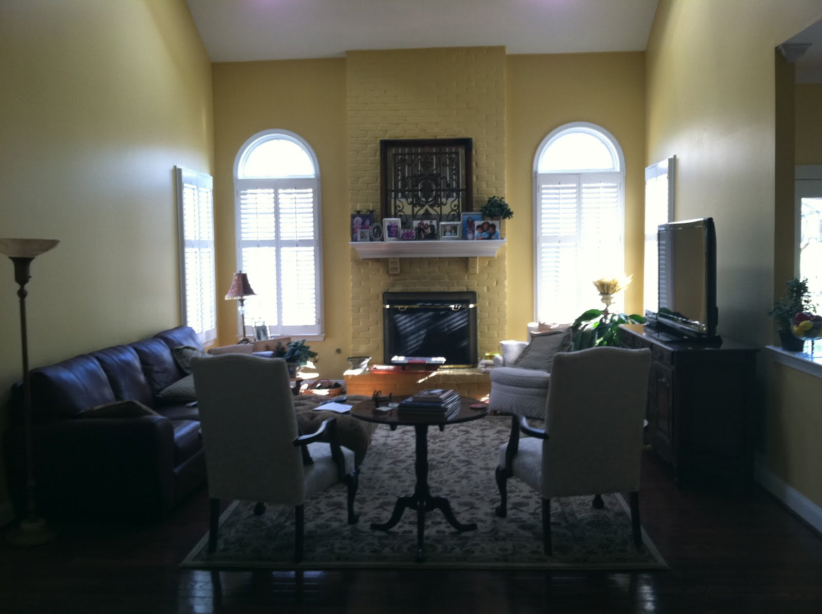 BEFORE & AFTER: A VIRGINIA FAMILY ROOM REDO! | COCOCOZY