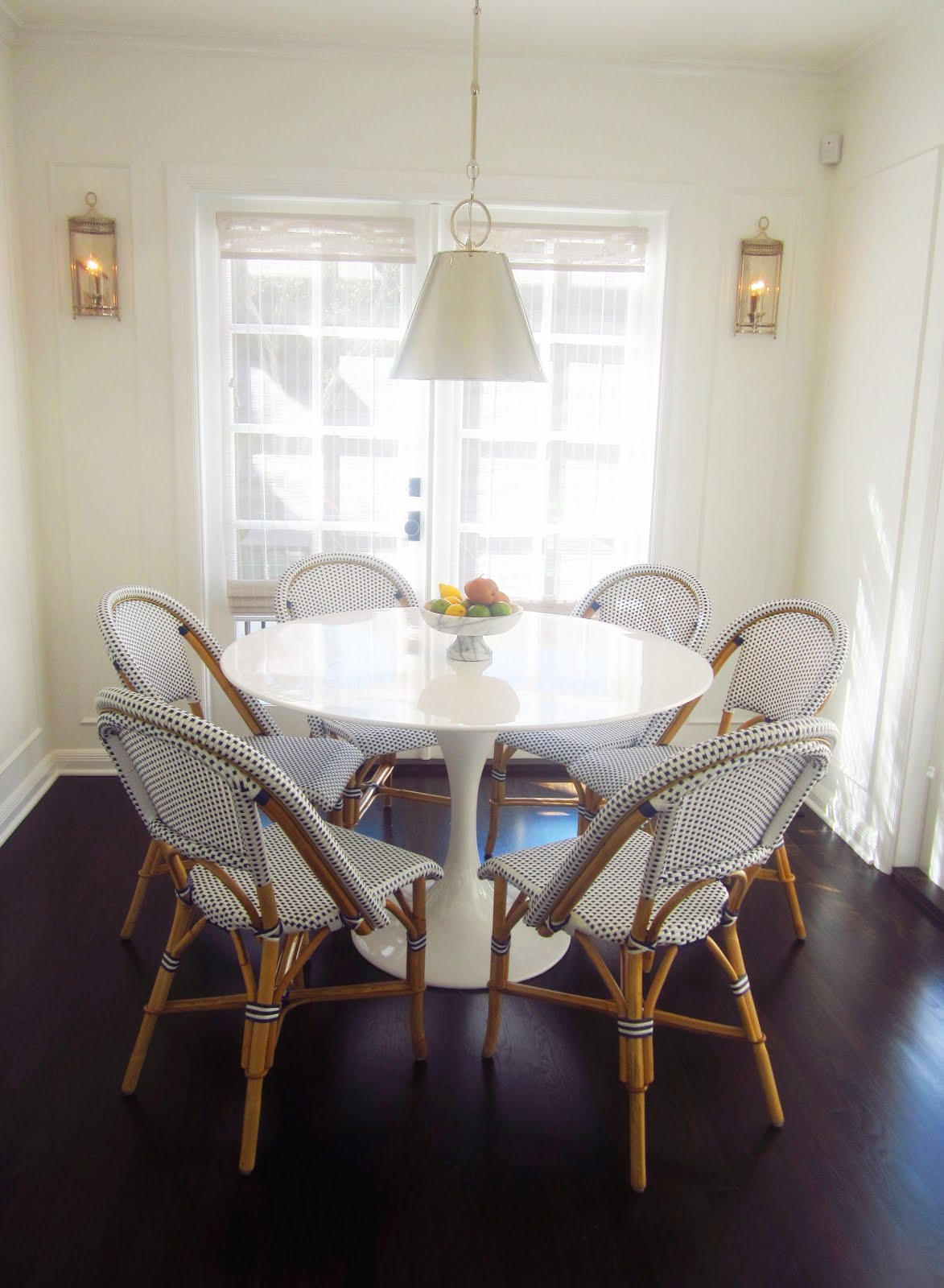 Tulip Table And Chairs Cococozy Exclusive A Chic Galley Kitchen Cococozy