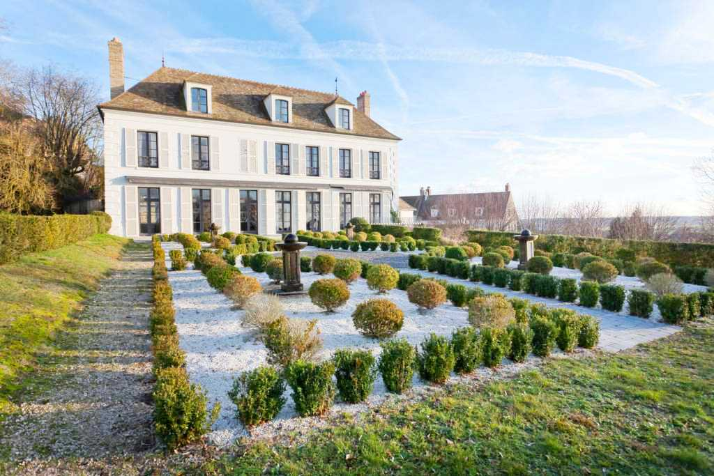 See this house the modern inside of an old world french for French chateau exterior design