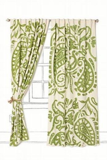 Lakarri Curtain from Anthropologie