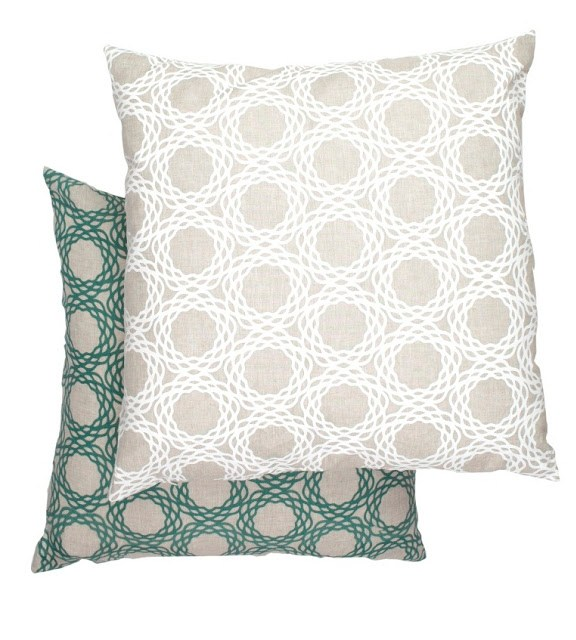 COCOCOZY Oxford Natural Linen Pillow Covers