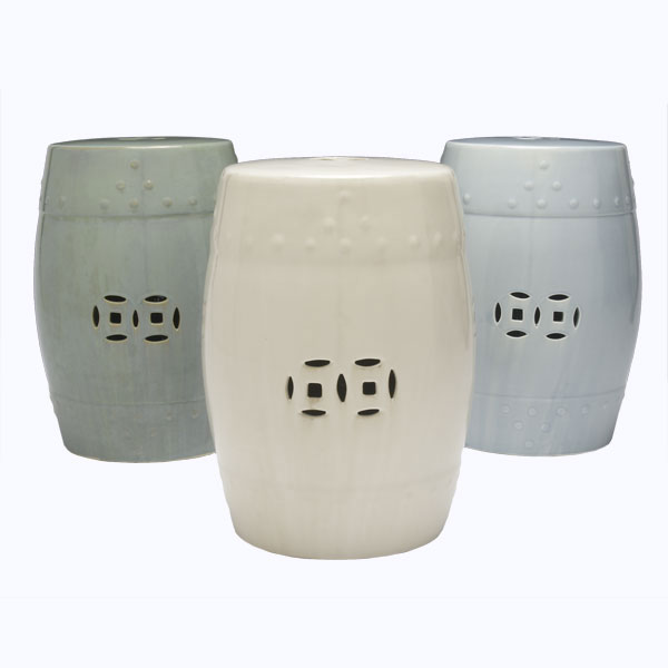 Cheap To Chic Garden Stools The Bottom Line On Ceramic