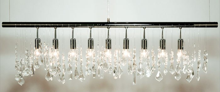 shade radionic white hi tech horizontal jacqueline crystal light p chrome chandelier linear with polished chandeliers pc