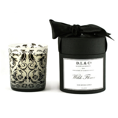 D.L. & Co Wilde Flower Candle from Auto