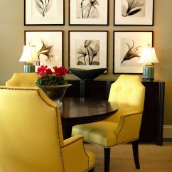 Yellow Upholstered Dining Chairs Wheelchair York Hello Sunny Must Have Furniture Reminds Me Of A