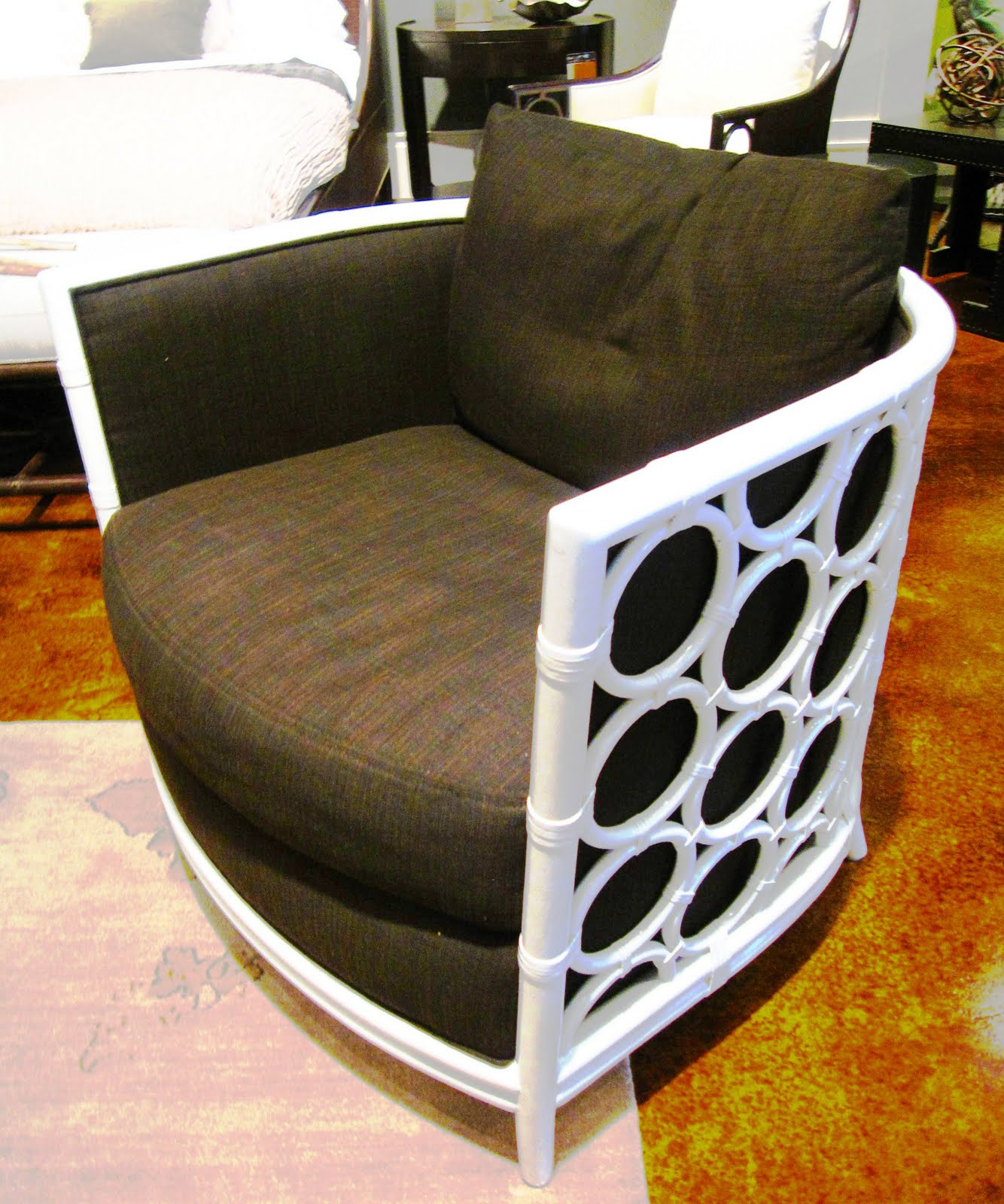 Design On Sale Daily Circling A Cute Little Barrel Chair Cococozy