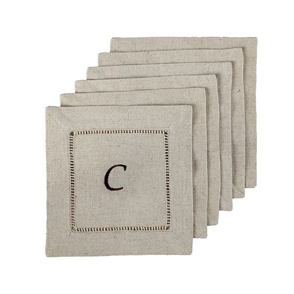 Custom cocktail napkins from Wisteria