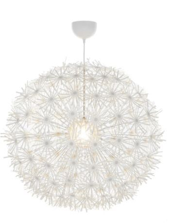 Dandelion ceiling light from Ikea