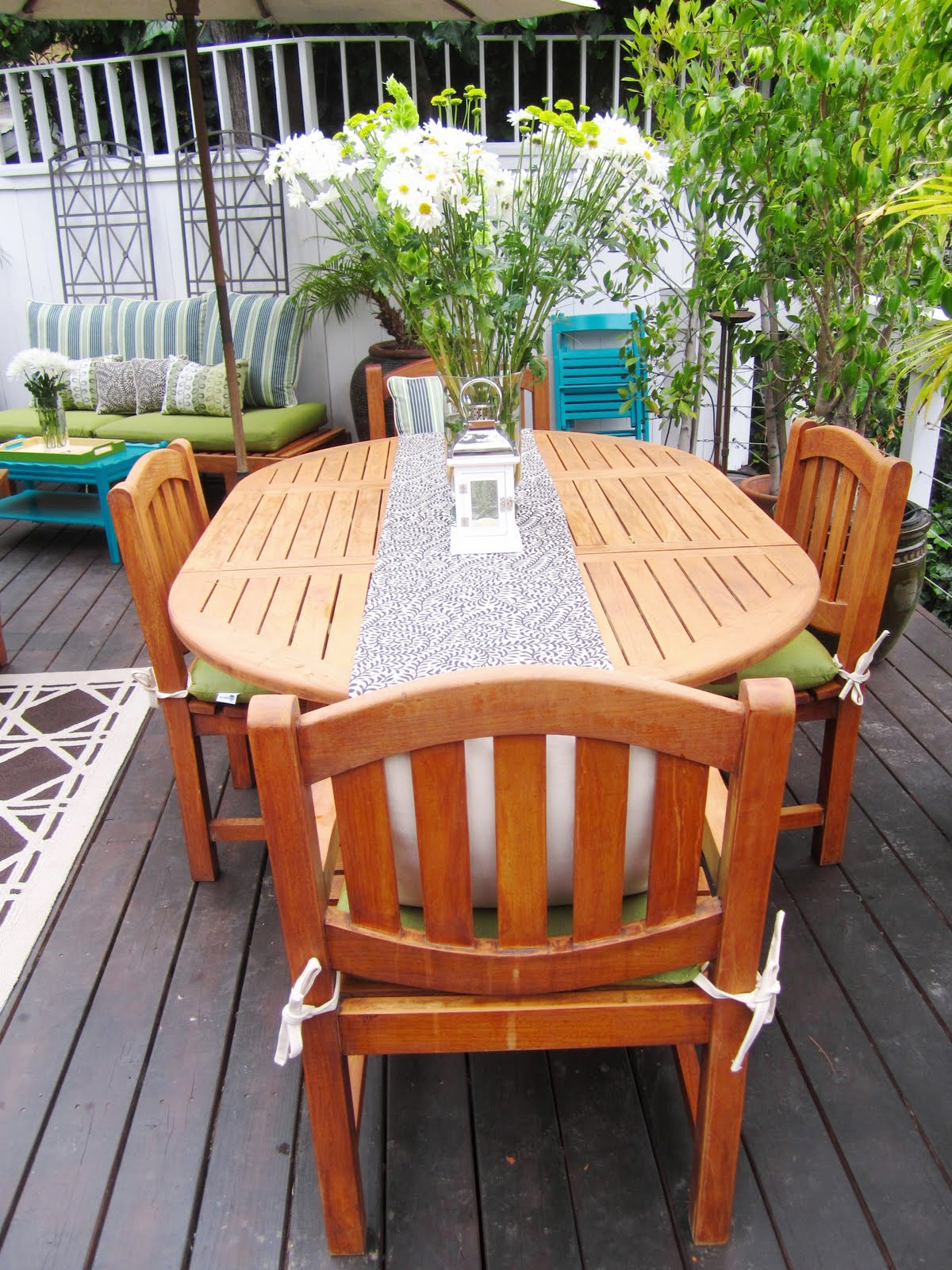 My Hollywood Hills Deck Makeover Part 2 The Resource