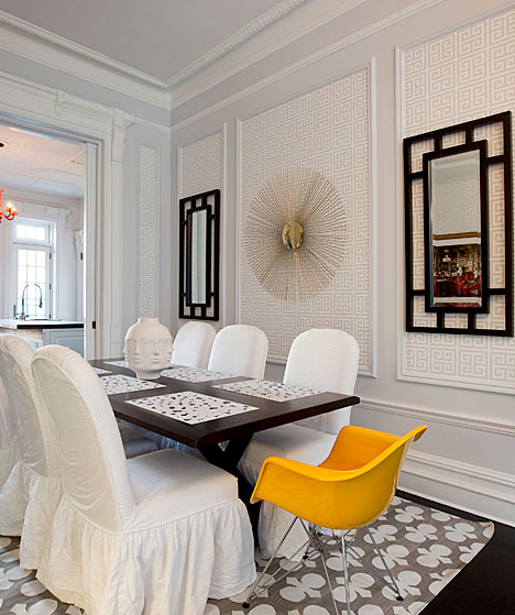 The Dining Room Brooklyn: A NEW YORK BROWNSTONE GETS A TOTAL REVAMP FROM THE