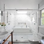 Smart Design A Bath Tub Inside A Marble Shower Oh What A Very Wet Room Cococozy