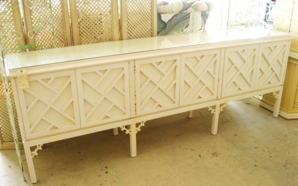 Long Chippendale Credenza