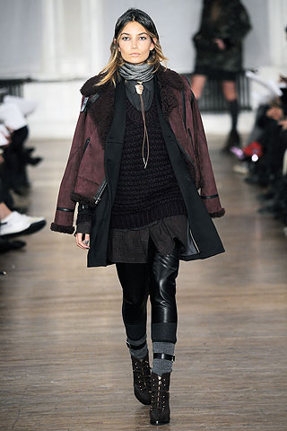 Model from Rag & Bone's Fall Ready-to-Wear 2010