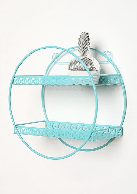 Loop de Loop Lace Shelf in turquoise from Urban Outfitters