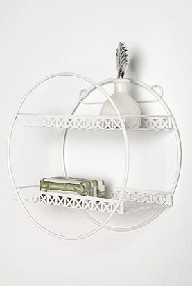 Loop de Loop Lace Shelf in white from Urban Outfitters