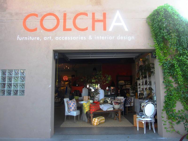 Exterior of Colcha in Venice Beach, California