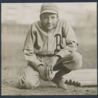 The Philadelphia Athletics and their hunchbacked mascot.