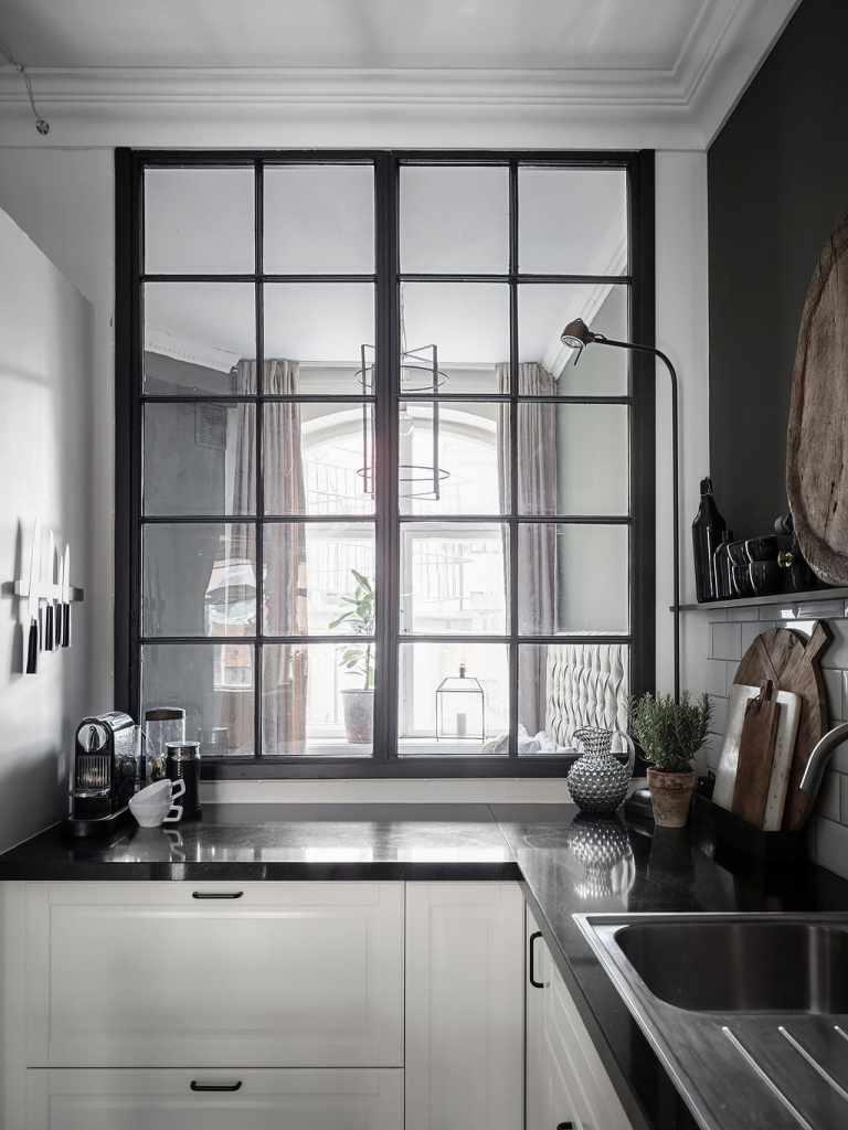 Beautiful glass wall partition