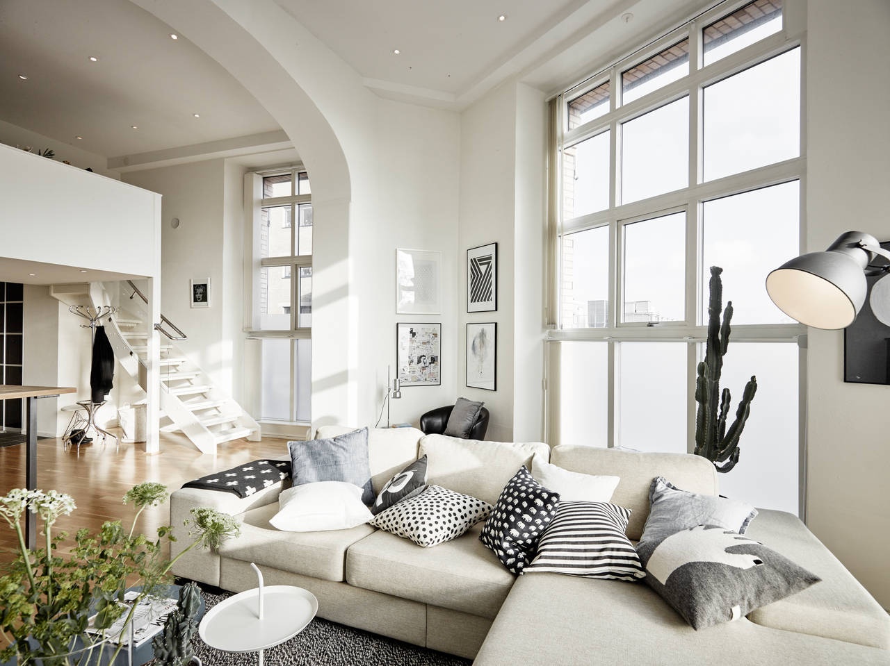 Tall flat with two levels  COCO LAPINE DESIGNCOCO LAPINE