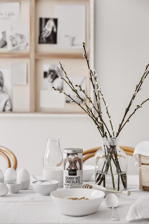 round wooden kitchen table chair slipcovers a creative way of hanging artwork - coco lapine designcoco ...