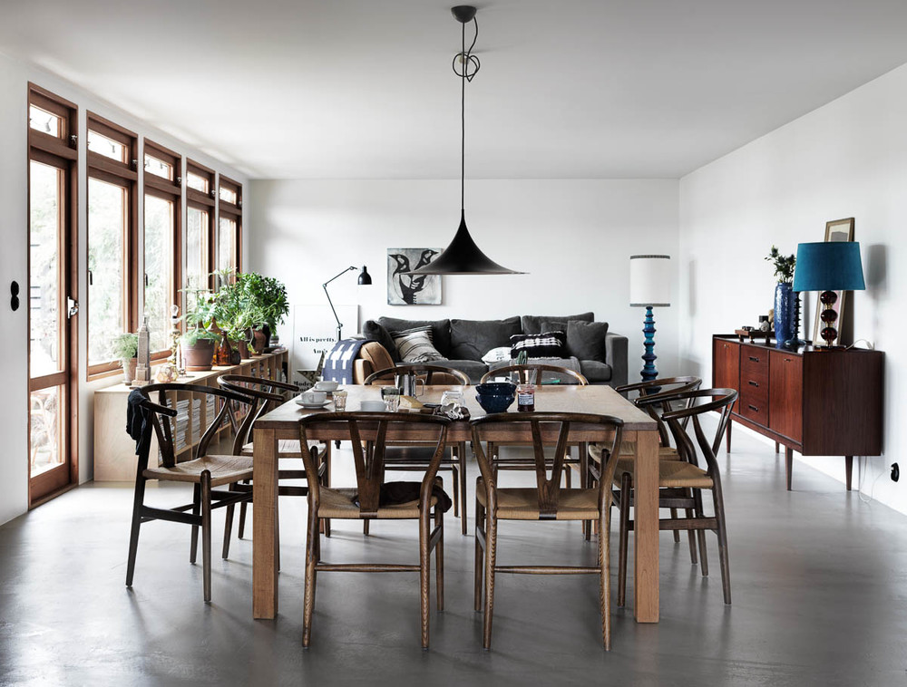 Concrete Floor And Wooden Cupboards Coco Lapine Designcoco