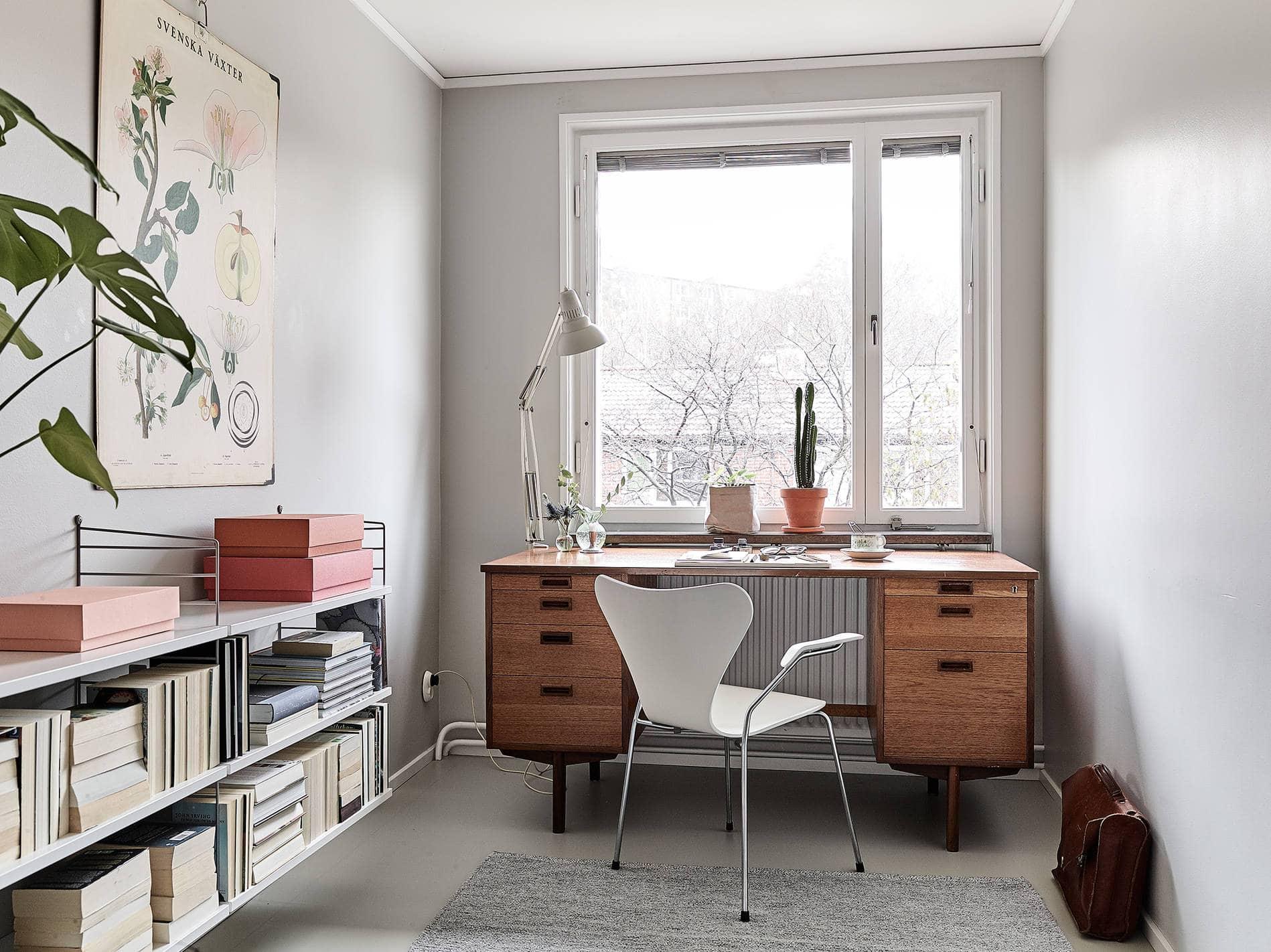 Cozy office space  COCO LAPINE DESIGNCOCO LAPINE DESIGN
