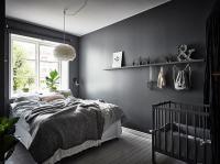 Beautiful dark bedroom - COCO LAPINE DESIGNCOCO LAPINE DESIGN